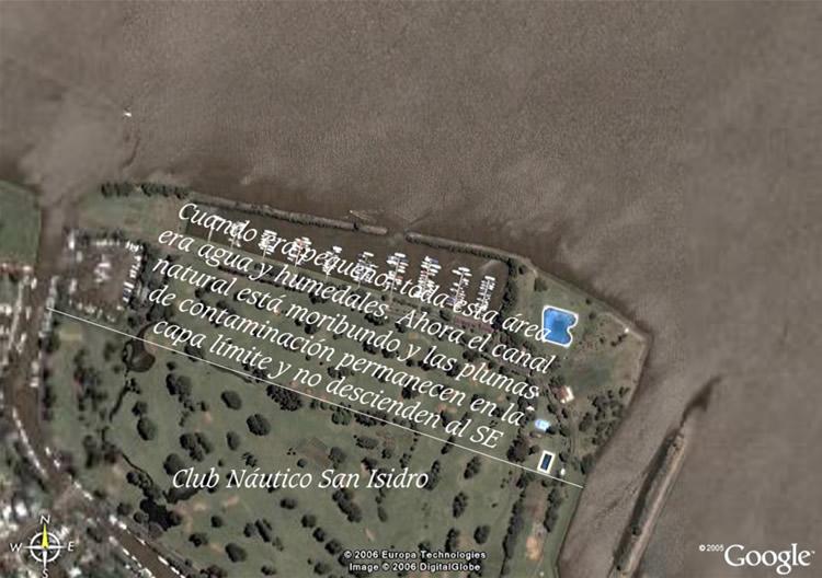 frente Norte de la isla madre del C.N.S.I.