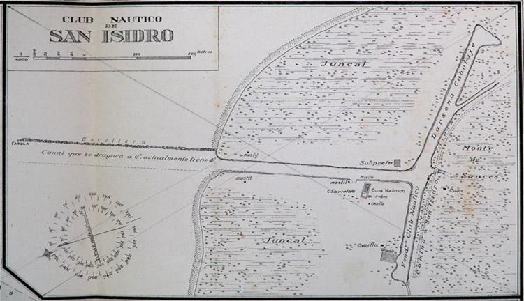 escollera de San Isidro en 1918